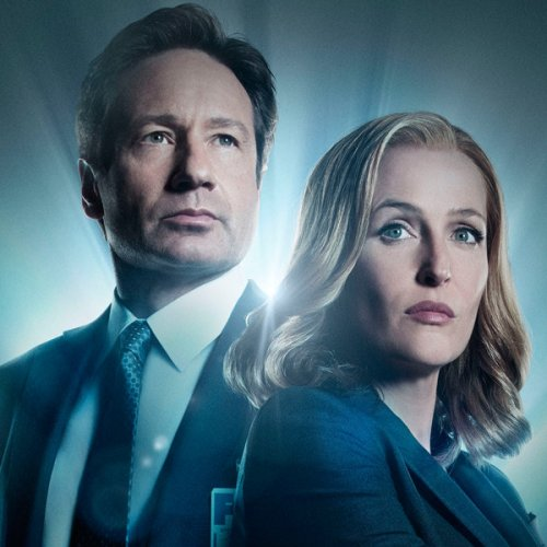 Gillian Anderson and David Duchovny Have an Adorable X-Files Reunion