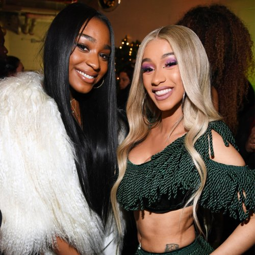"""Cardi B Slams Allegations of """"Queerbaiting"""" in Music Video With Normani"""