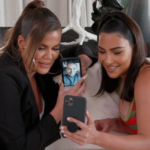 Khloe & Kim Kardashian Try to Uncover the Truth About the Nori's Black Book Instagram on KUWTK