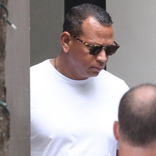Alex Rodriguez Was Spotted Leaving Katie Holmes' Building, But It's Not What You Think