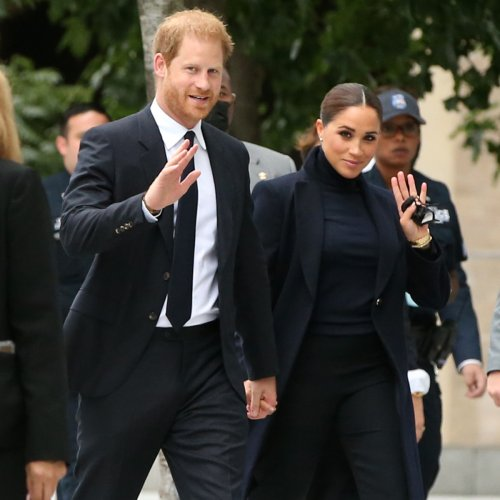 See Meghan Markle and Prince Harry Step Out in NYC for First Joint Appearance Since Lili's Birth