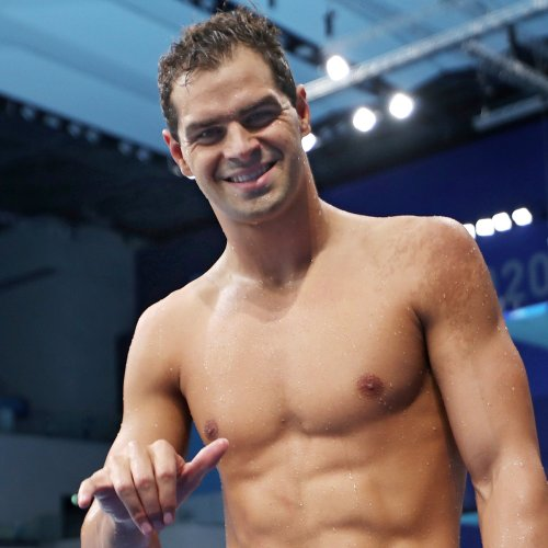 Olympic Committee Says Swimmer Michael Andrew Did Not Violate Rules By Going Maskless