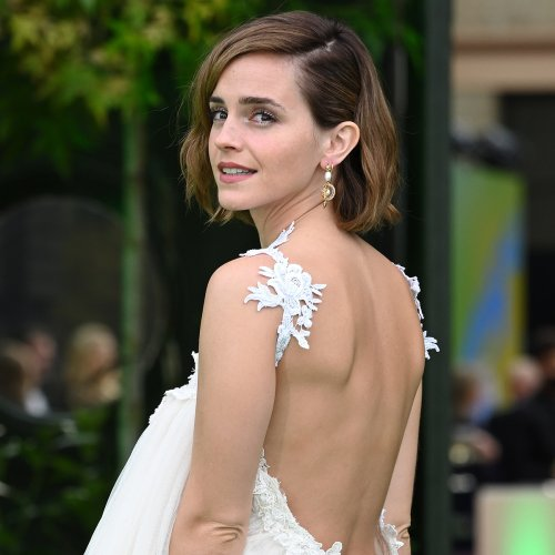 Emma Watson Debuts Daring Style at Her First Red Carpet Event in Almost 2 Years