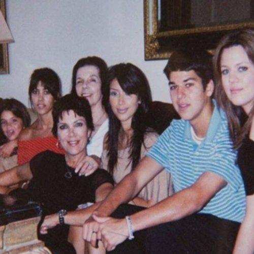 These Old Kardashian Family Photos Will Have You Feeling Nostalgic