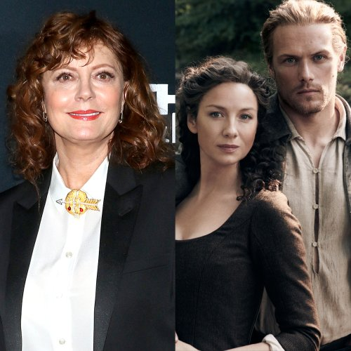 Susan Sarandon Is All of Us Waiting for Outlander to Return