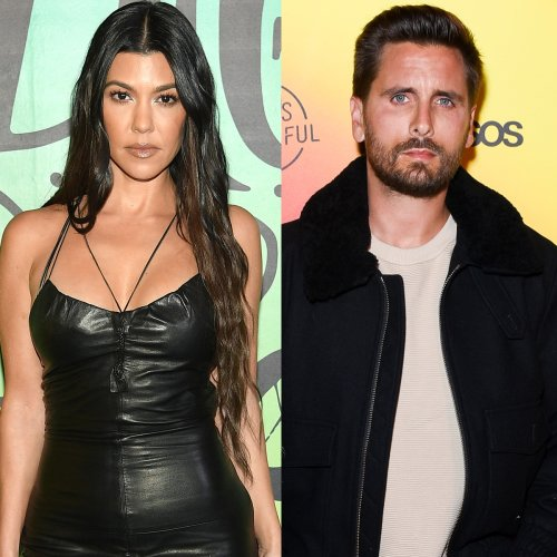 """Why Kourtney Kardashian and Scott Disick Are """"Barely Speaking"""" Amid Her Romance With Travis Barker"""