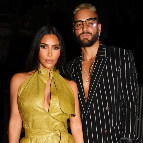 Inside Kim Kardashian's Night Out With Maluma, the Beckhams and Other Celebs in Miami