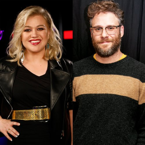 Watch Kelly Clarkson Confront Seth Rogen About Her Famous 40-Year-Old Virgin Shout-Out