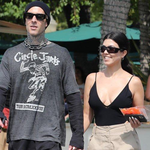 Kourtney Kardashian and Travis Barker Look More in Love Than Ever During Malibu Date