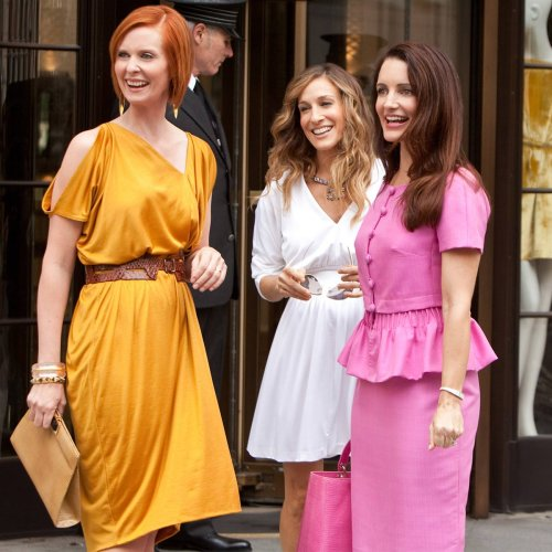 Sarah Jessica Parker, Cynthia Nixon & Kristin Davis Share First Pic From Sex and the City Revival