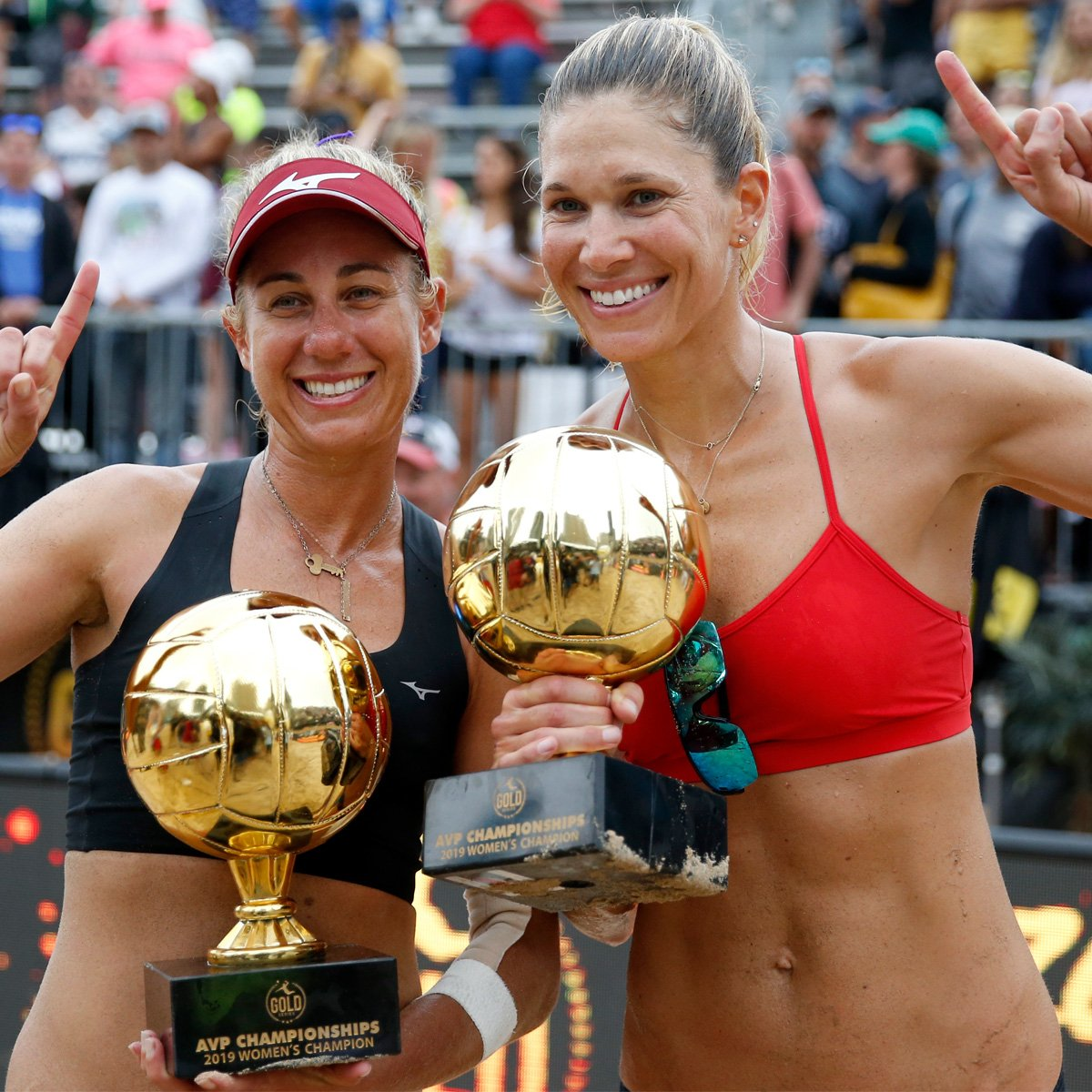 Get to Know April Ross and Alix Klineman, the Beach Volleyball Pros Dominating the Olympics