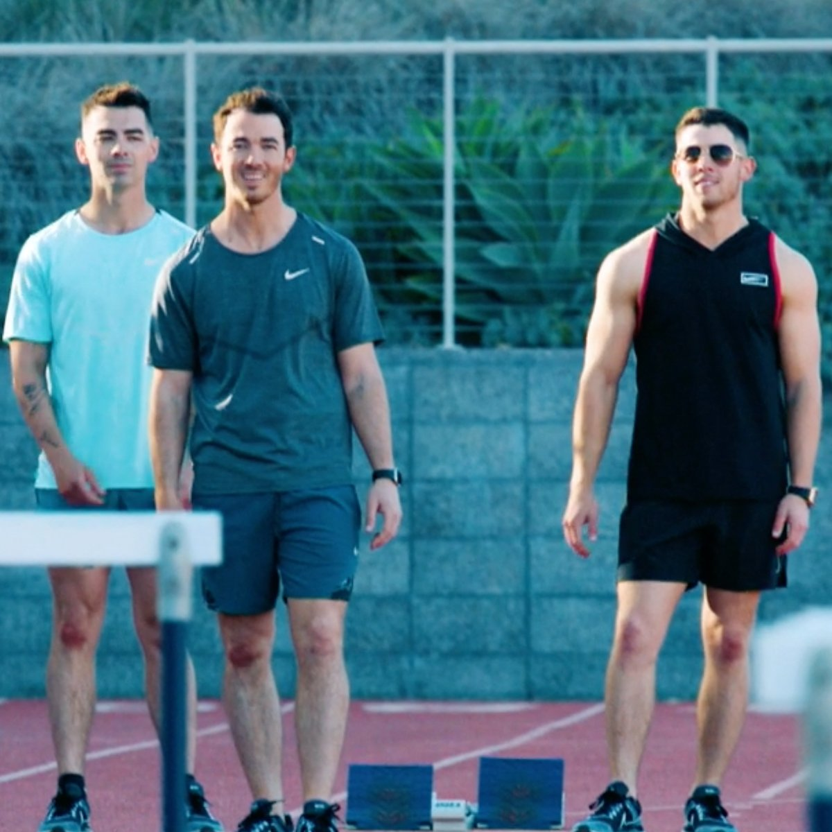 Watch Kevin, Joe and Nick Jonas Go for the Gold in Olympic Dreams Featuring Jonas Brothers