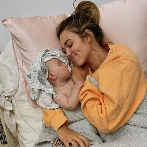 Sadie Robertson's 4-Month-Old Daughter Hospitalized With Respiratory Virus