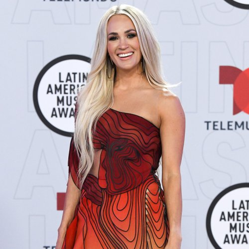 Carrie Underwood Steals the Spotlight in Bold Butterfly Gown at 2021 Latin AMAs