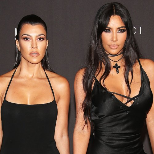 Kourtney Kardashian Hilariously Calls Out Sister Kim for Getting Her Age Wrong