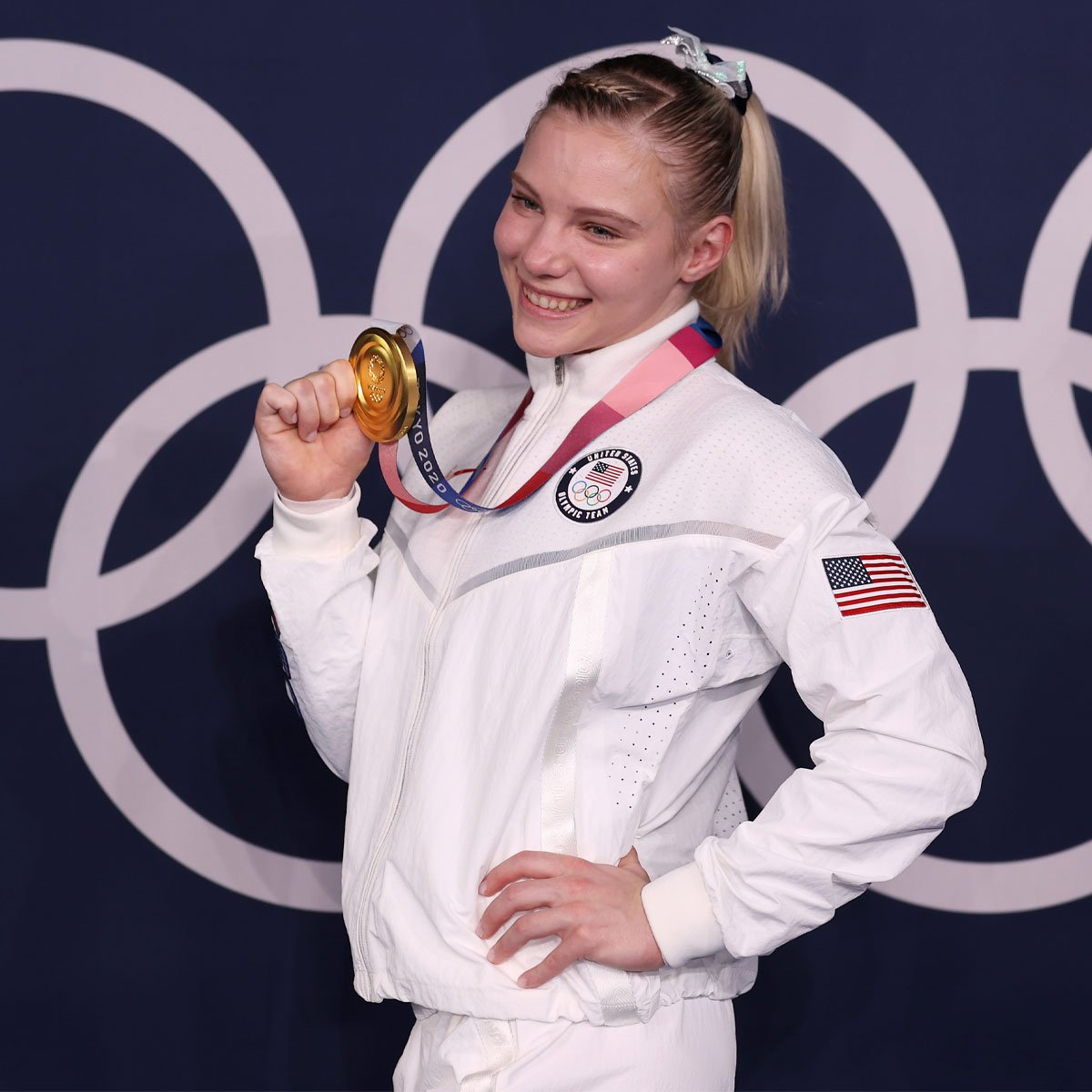 Jade Carey's Jaw-Dropping Gymnastics Floor Routine Wins Olympic Gold