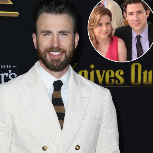 Chris Evans' Tweets About The Office's Jim & Pam Will Make You Swoon