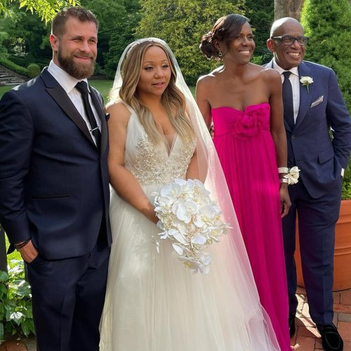 Al Roker's Daughter Courtney Is Married, Today Stars Attend Fairytale Ceremony