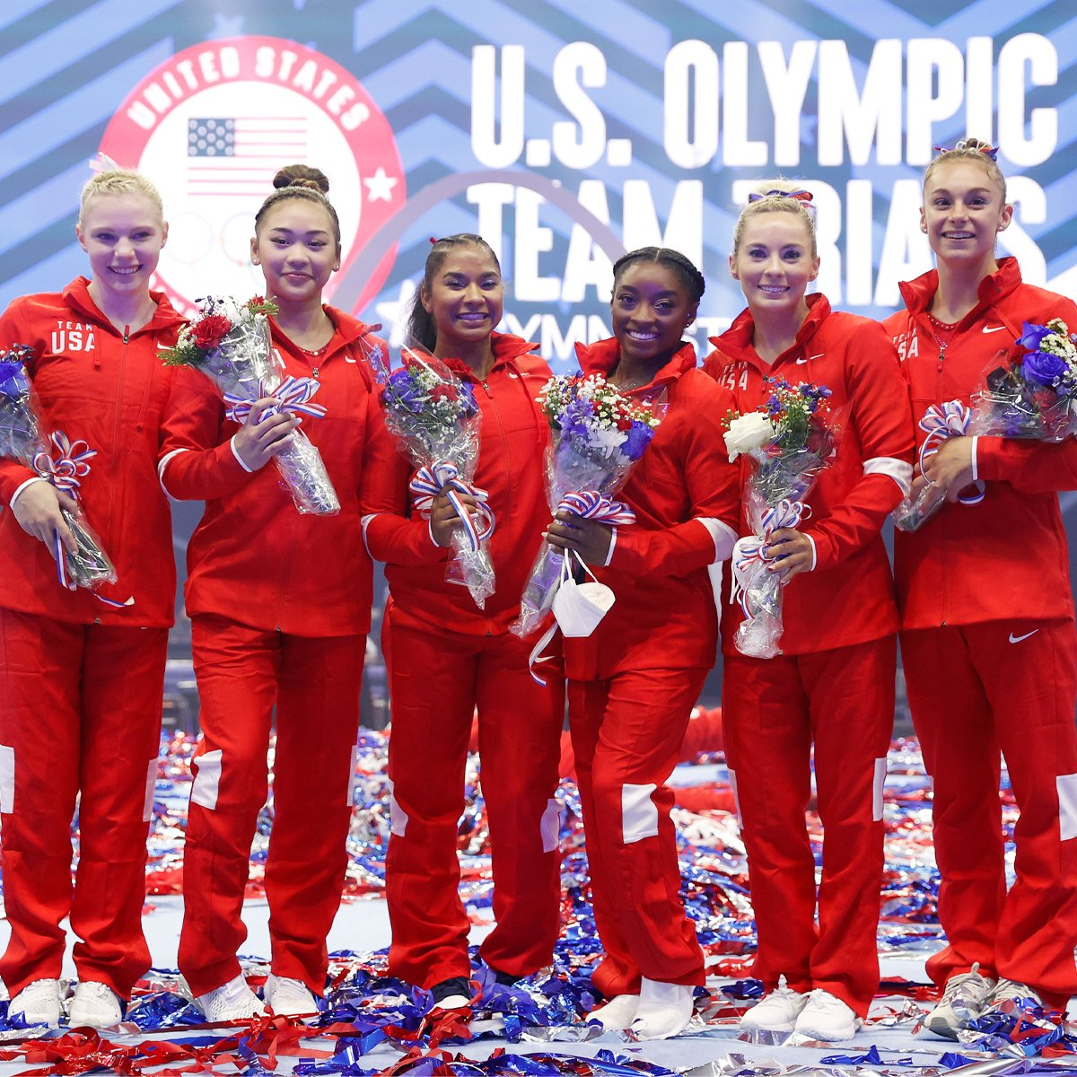 Gymnast Suni Lee Wins Gold as Teammate Simone Biles Cheers Her on in Tokyo Olympics Stands