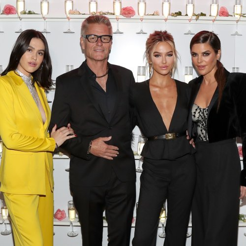 See Amelia Hamlin Apologize to Dad Harry Hamlin for Her See-Through Look