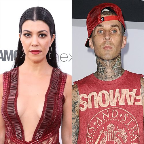 Kourtney Kardashian Tattoos Those Three Words on Travis Barker's Body
