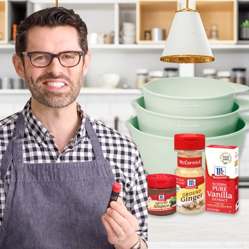 Preppy Kitchen's John Kanell Shares What's in His Pantry