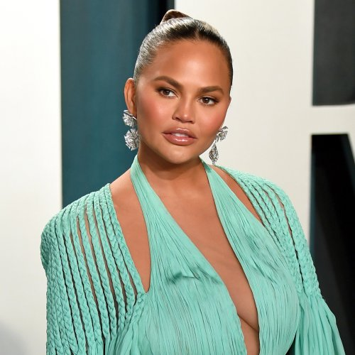 """Chrissy Teigen Introduces New Puppy Pearl She Hopes Will """"Add Love to Our Home"""""""