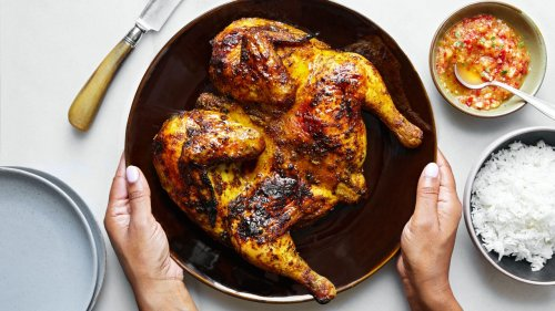 How to Make Bangkok's Best Thai Muslim-Style Grilled Chicken at Home