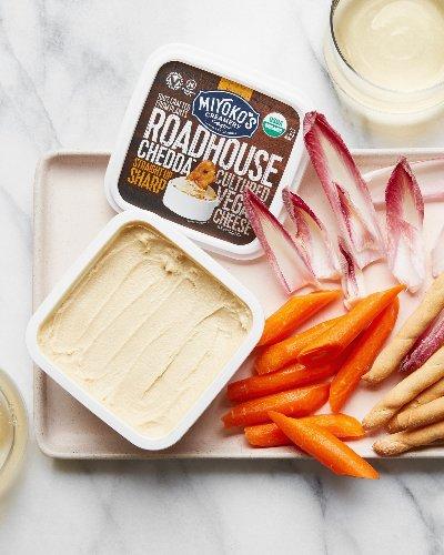 Miyoko's Roadhouse Chedda Is the Vegan Snack Food I Need