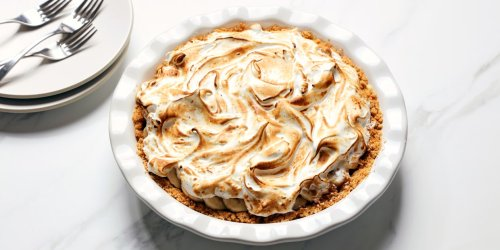 Banana Pudding Custard Pie