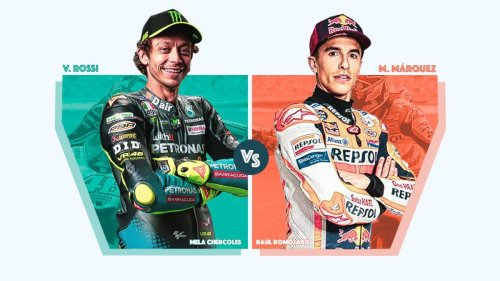 Valentino Rossi o Marc Márquez: ¿con cuál te quedas?
