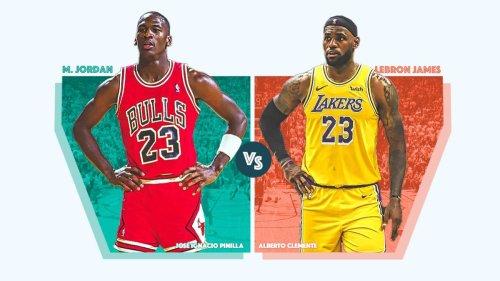 Michael Jordan o LeBron James: ¿con cuál te quedas?