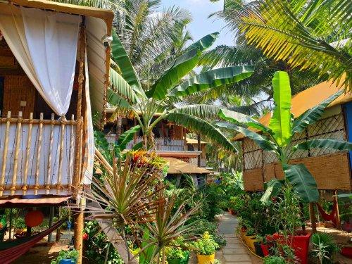 Fernweh-Foto: Meine Strandhütte in Goa