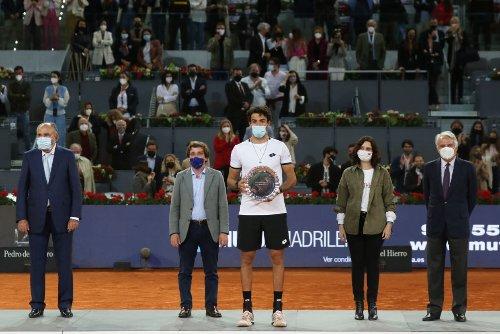 Aparece Ayuso en el Madrid Open y la reacción de Alexander Zverev fue preguntar quien era