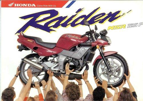 Moto del día: Honda NSR 125 F Raiden | espíritu RACER moto