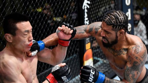 UFC Fight Night results: Max Griffin, Grant Dawson post highlight-reel finishes