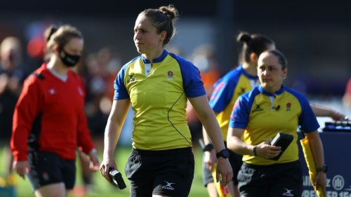 Cox first woman to ref rugby Premiership