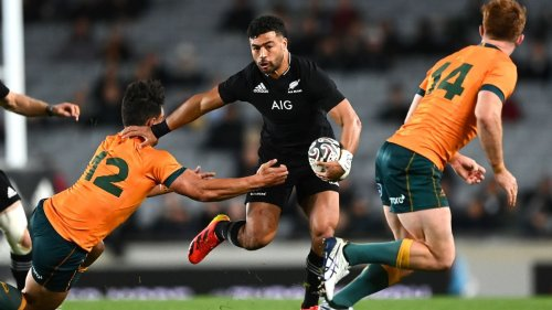Mo'unga back at 10 for All Blacks' Test with Eagles