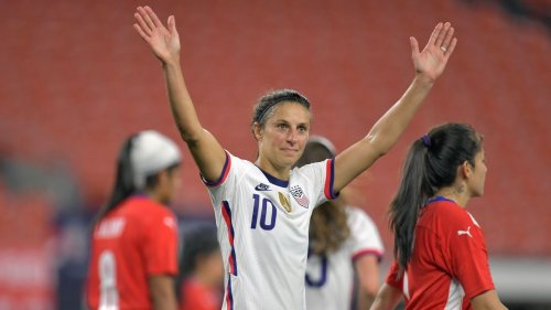 Carli Lloyd scored five in United States' runaway friendly win over Paraguay