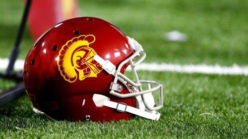 USC Trojans team plane tips backward on tarmac with coaches, staff still on board