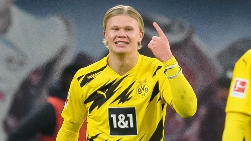 Dortmund striker Haaland's latest Bundesliga goals record caps off incredible first year
