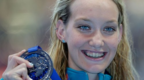 Olympic gold medal swimmer Madison Wilson hospitalized for COVID-19