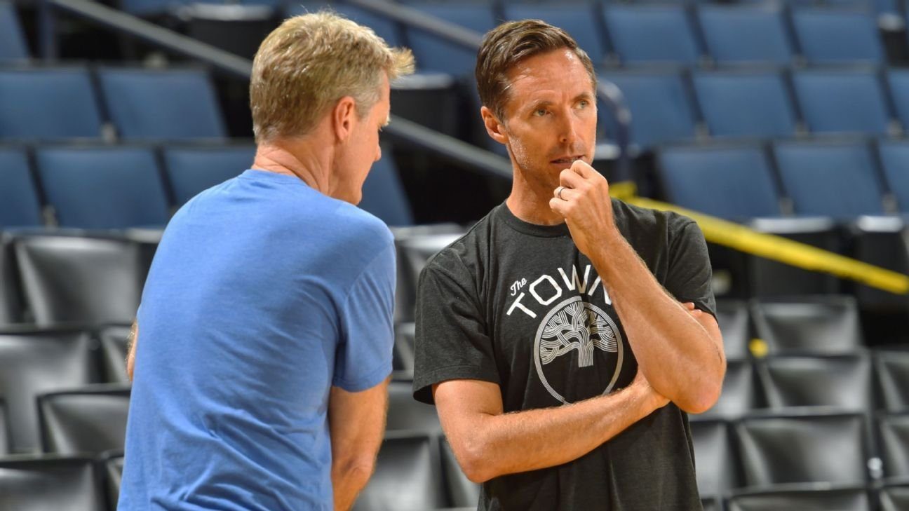 NBA debate: How does Steve Nash fit with Kevin Durant, Kyrie Irving and the Brooklyn Nets?