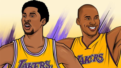 Kobe Bryant's two legendary NBA careers