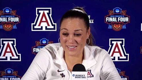 Arizona's Adia Barnes delivers powerful message - ESPN Video