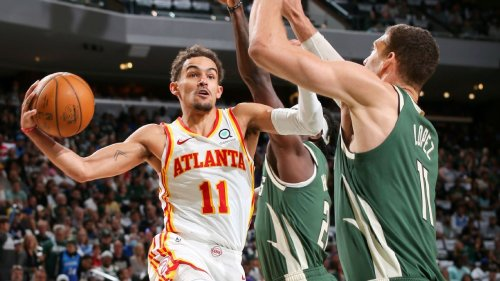 Trae Young scores game-high 48 points in style, leads Atlanta Hawks to Game 1 win