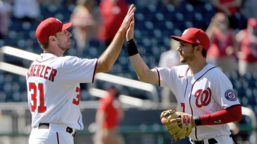 Los Angeles Dodgers finalizing deal to acquire stars Max Scherzer and Trea Turner from Washington Nationals, sources say