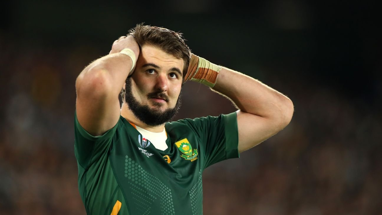 Springboks in isolation as Lood de Jager tests positive for COVID-19