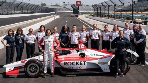 Meet the women making motorsports history at the Indy 500