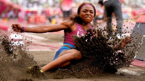 Olympics 2021: How working at McDonald's nearly got Quanesha Burks to the long jump final